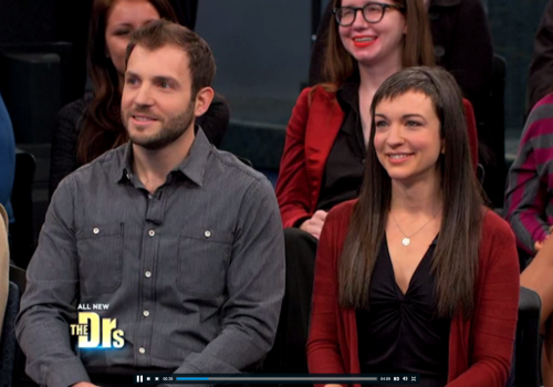 Kindara founders Will Sacs and Kati Bicknell on The Doctors show